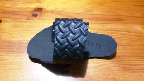 Hiking 22092016 fifteen gram blue foam flip flop camp shoe a work of pure genius can there be a better camp shoe than this chris morgan writes the walmart fandeluxe Gallery
